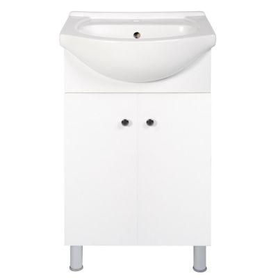 Mueble de baño blanco 50X43X84 cm