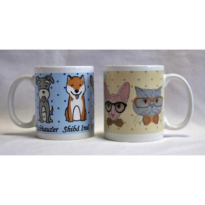 Tarro cerámica mascotas 340ml