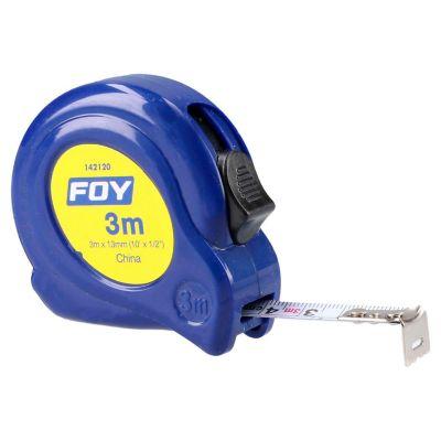 """Flexómetro 3m x 1/2"""" azul"""