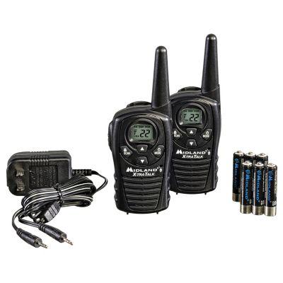 Radios Midland 18 millas 22 canales bateria recargables Resistente a Salpicaduras Agua