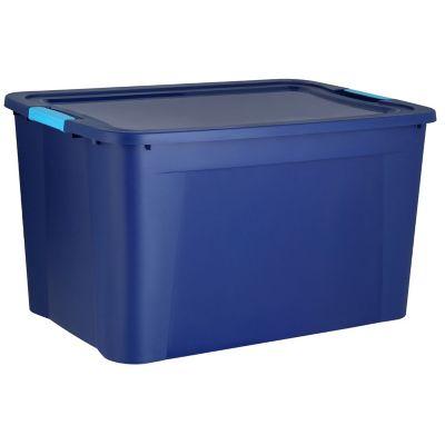 Caja plastica ultraforte box 68 lts azul