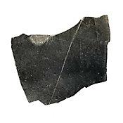 Piedra laja negra grande