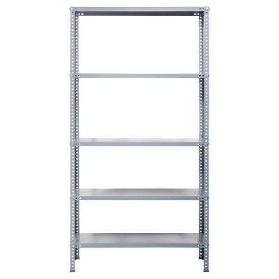 Estante metal con tornillos gris 180x90x40
