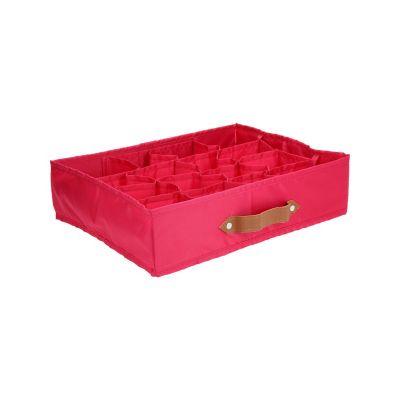 Organizador 16 espacios rosa