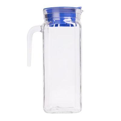 Jarra de vidrio Igloo 1200 ml., con tapa plástica