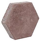 Adoquín hexagonal rosa  24x24x6cm AC
