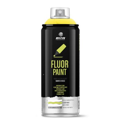 Spray Pintura Flúor: Amarillo