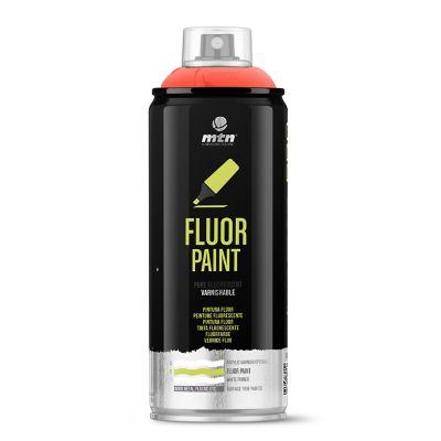 Spray Pintura Flúor: Rojo