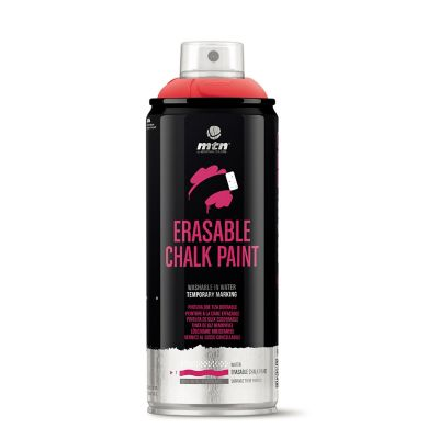 Spray Tiza Borrable:Rojo Claro