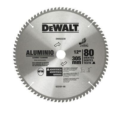 Disco Sierra 12 pulgX80 Dientes, Flecha 30 mm Accesorio para el corte de Aluminio de rendimiento profesional.