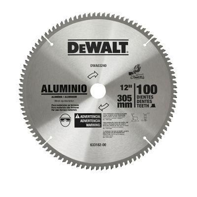 Disco Sierra 12 pulgX100 Dientes,Flecha 30 mm Accesorio para el corte de Aluminio de rendimiento profesional.