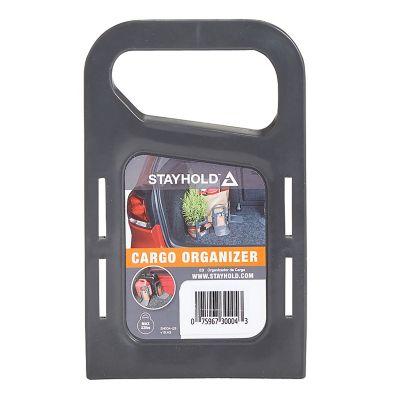 Velcro stayhold sujetador mini color gris, 1 pieza, organizador de cajuela