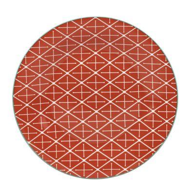 Plato 19X19Cm Geometrico Nar