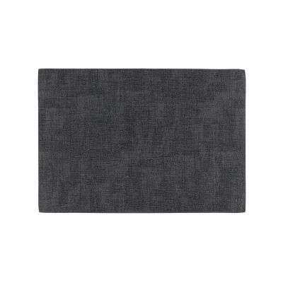 Mantel individual PU 30x43 gris obscuro