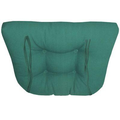 Cojín Para Silla Loneta Verde Jade 40X36 Cm.