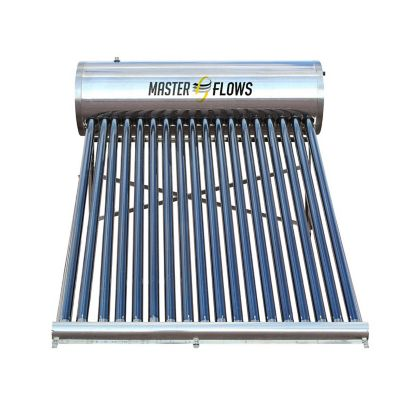 Calentador Solar 18 Tubos 204 Lts
