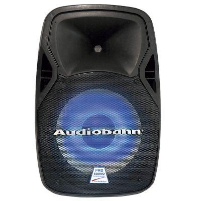 Sistema de audio profesional 2 vias amplificado woofer 15 pulgadas 8000w PMPO