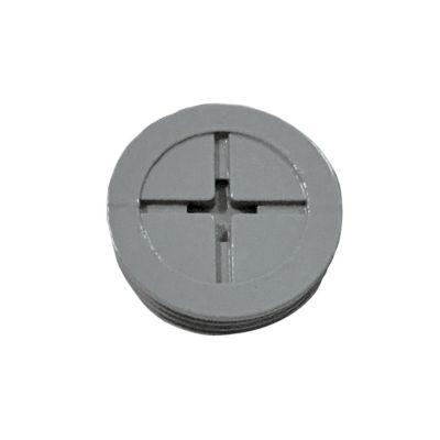 """Tapones para Caja Rectangular 1/2"""" 13 mm 4pz"""