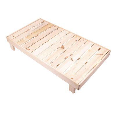 Base madera pino individual