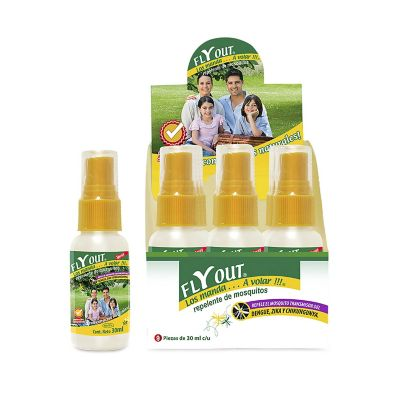 Repelente de Insectos Spray 30 ml
