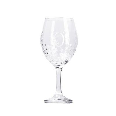Juego 2 copas baroque transparente