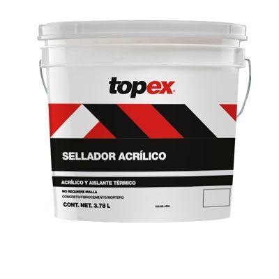 Topex Sellador Acrilico 3.8L