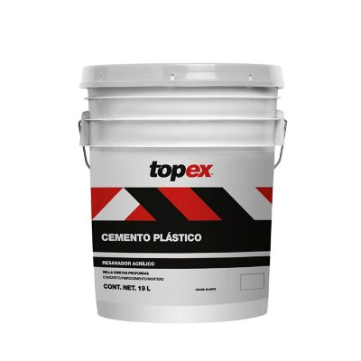 Topex Cemento Plástico 19L