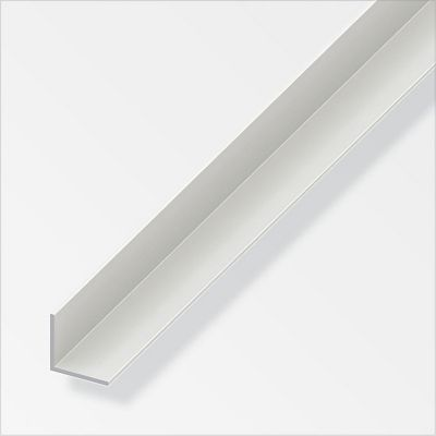 Ángulo 30 x 30 x 1.1mm, PVC BLANCO, 1M