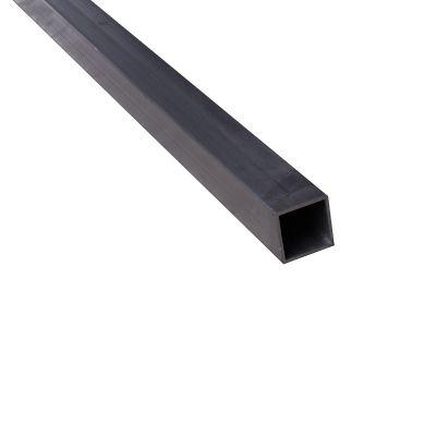 Tubo cuadrado 23.5 x 1.5mm aluminio natural 2.5m