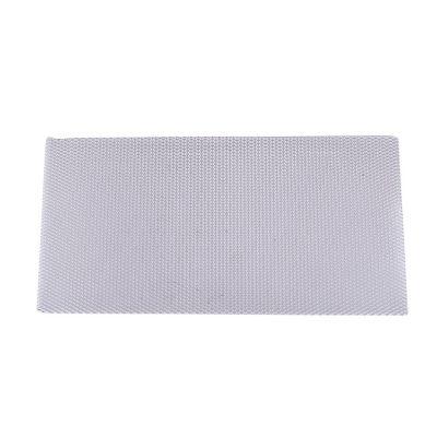 Lámina desplegada 1.6/10/5mm, 25x50cm Aluminio natural