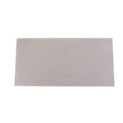 Lámina desplegada 1.6/10/5mm, 25x50cm Aluminio anodizado latón