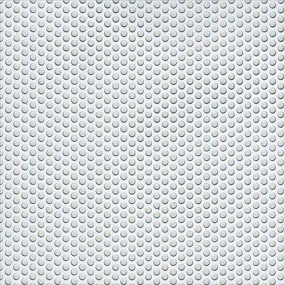 Lámina perforada con circulos de 0.7mmx1mm, 12x100cm, Aluminio anodizado plata
