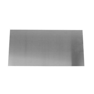 Lámina lisa 1.5mm, 25x50cm, Aluminio natural