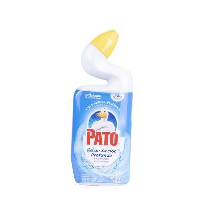 Limpiador Baño Pato Líquido Azul 500 ml