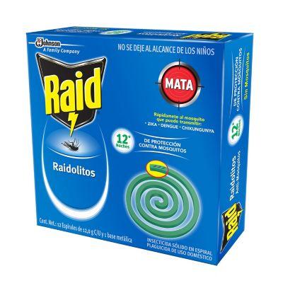 Raidolitos 12 piezas