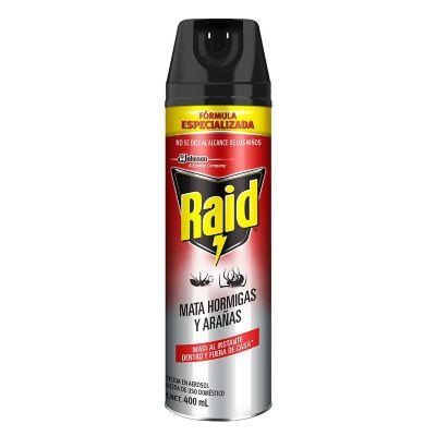 Raid mata hormigas y arañas 400ml