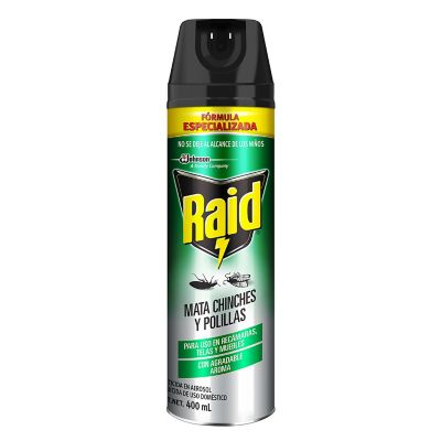 Raid Mata Chinches y Polillas 400ml