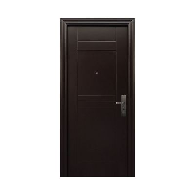 Puerta de Seguridad Elegance Chocolate Apertura Izquierda