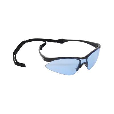Lente Infra V-4000 Uv Fashion Azul Con Cordon