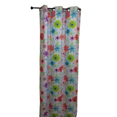 Cortina Black Out Diseño de Flores Grandes 135x220 cm
