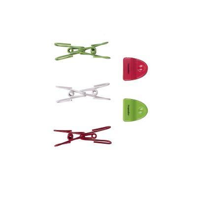 Set de clips y pinzas para bolsas