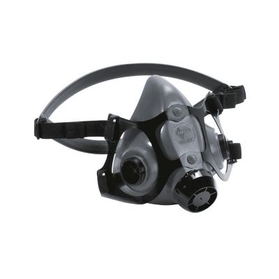 Respirador doble color gris