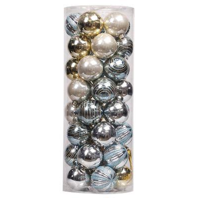 Set 40 esferas disen01 6cm  bd