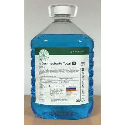 Desinfectante total S formulado a partir de cuaternarios de amonio