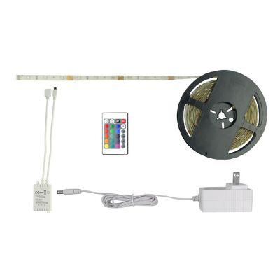 Tira led rgb control infrarojo