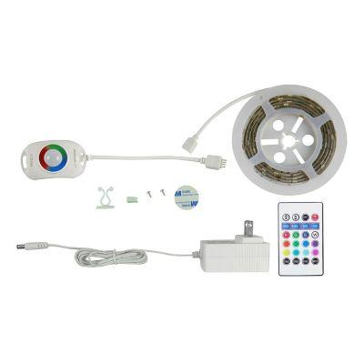 Tira led rgb 1.5m c/sensor mov