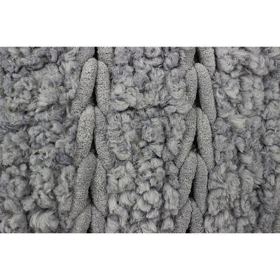 Tapete de baño cross bath gris 50x70 cm