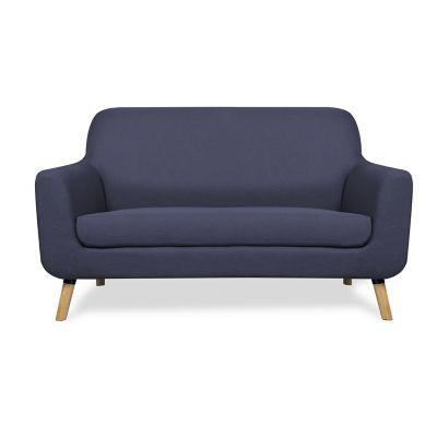 Sofa 2 plazas azul