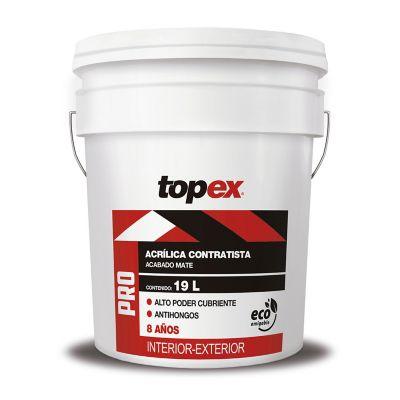 Pintura Topex Pro Base Pastel 19L