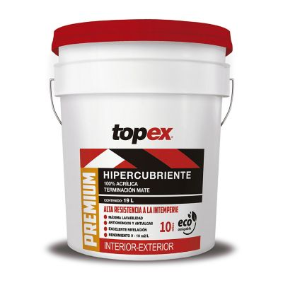 Pintura Topex Premium Base Pastel 19L